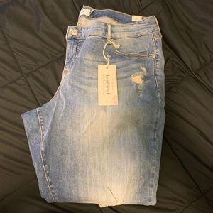 Boyfriend crop jeans size 20